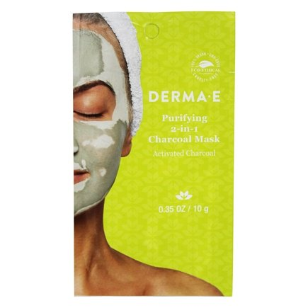 Purifying 2 in 1 Charcoal Facial Mask - 0.35 oz. by DERMA-E (pack of 6) OZNaturals Facial Cleanser Contains Powerful Vitamin C - This Natural Face Wash Is The Most Effective Anti Aging Cleanser Available - Deep Cleans Your Pores Naturally For A Healthy, Radiant Glow!
