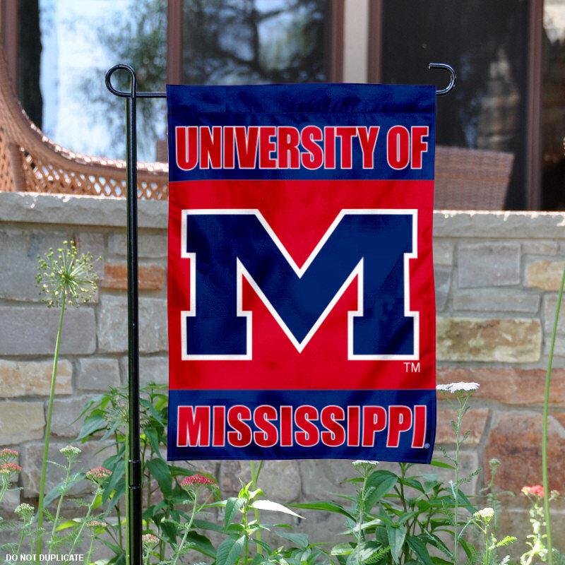 """""""Mississippi Rebels 13"""""""" x 18"""""""" College Garden Flag"""" SW-GardenSW-MR"""