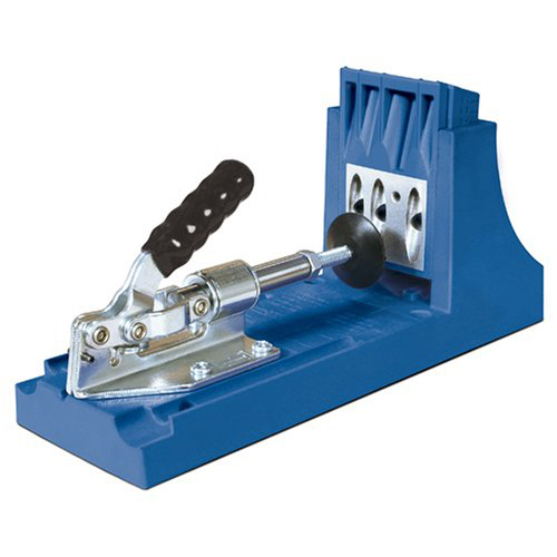 Kreg Jig K4 Pocket Hole System w  Pocket-Hole Screw in 5 Sizes and Face Clamp by Kreg