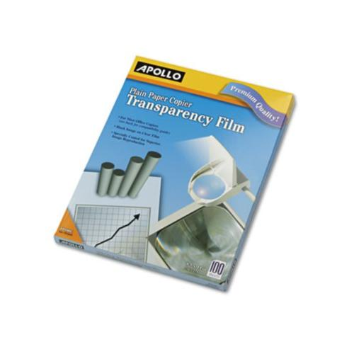 Apollo Plain Paper Transparency Film for Laser Devices APOPP100C