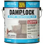 Bright White, Seal Krete Damplock Masonry Waterproofing Paint, Gallon