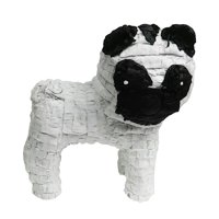 """Pug Dog Pinata, Party Game, Decoration and Photo Prop, 20"""""""