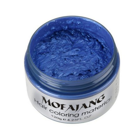 Unisex Hair Wax Color Dye Styling Cream Mud, Natural Hairstyle Pomade, Washable Temporary, Party (Best Pomade For Natural Hair)