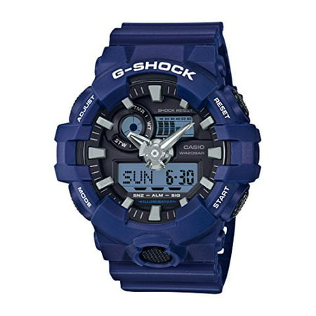 G-Shock GA700-2A Quartz Resin Casual Men's Watch (Blue)