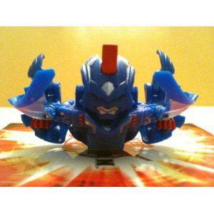 BAKUGAN SEASON 3 LOOSE AQUOS (Blue) STRIKEFLIER 650G W/ DNA CODES [Toy]