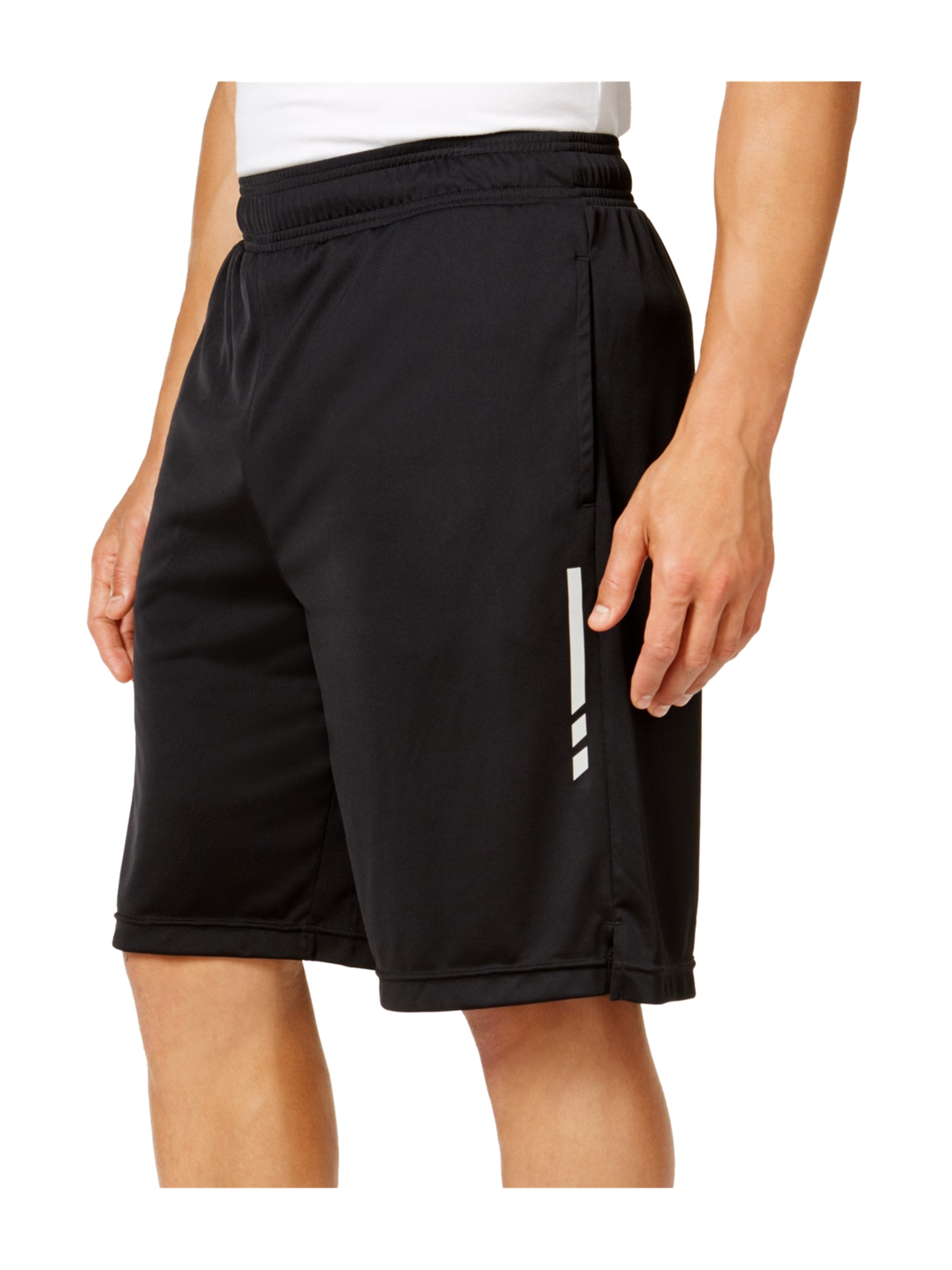 Ideology Mens Knit Training Athletic Workout Shorts