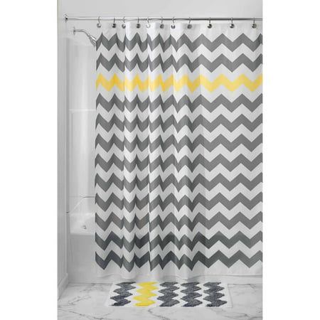 multi color chevron shower curtain. InterDesign Chevron Fabric Shower Curtain  72 x Various colors