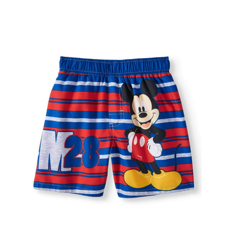 Mickey Mouse Swim Trunks (Toddler Boys)