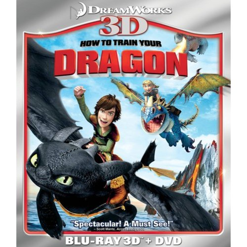 How To Train Your Dragon (3D Blu-Ray   DVD) (Widescreen)