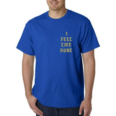 Trendy USA 424 - Unisex T-Shirt Feel Like Kobe Bryant Lakers Mamba Front & Back Print Greatest Of All Time Kanye West XL Royal Blue](Blue Tuxedo Jacket)