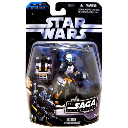 Star Wars Saga Collection 2006 Scorch Action Figure [Republic Commando]