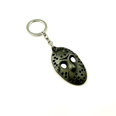 Jason Keychain Key Ring Horror Scary Movie Hockey Mask Auto/Boat House Keys