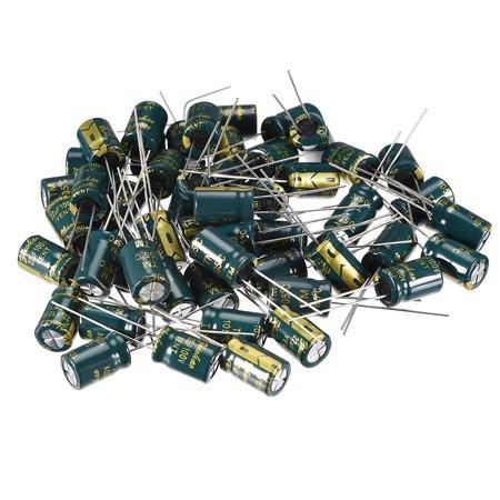 Aluminum Radial Electrolytic Capacitor Low ESR 22uF 100V 8x12mm 50pcs 100v Aluminum Electrolytic Capacitor