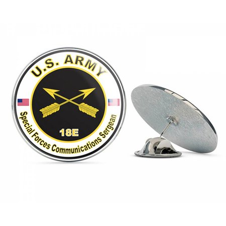 - U.S. Army MOS 18E Special Forces Communications Sergeant Metal 0.75