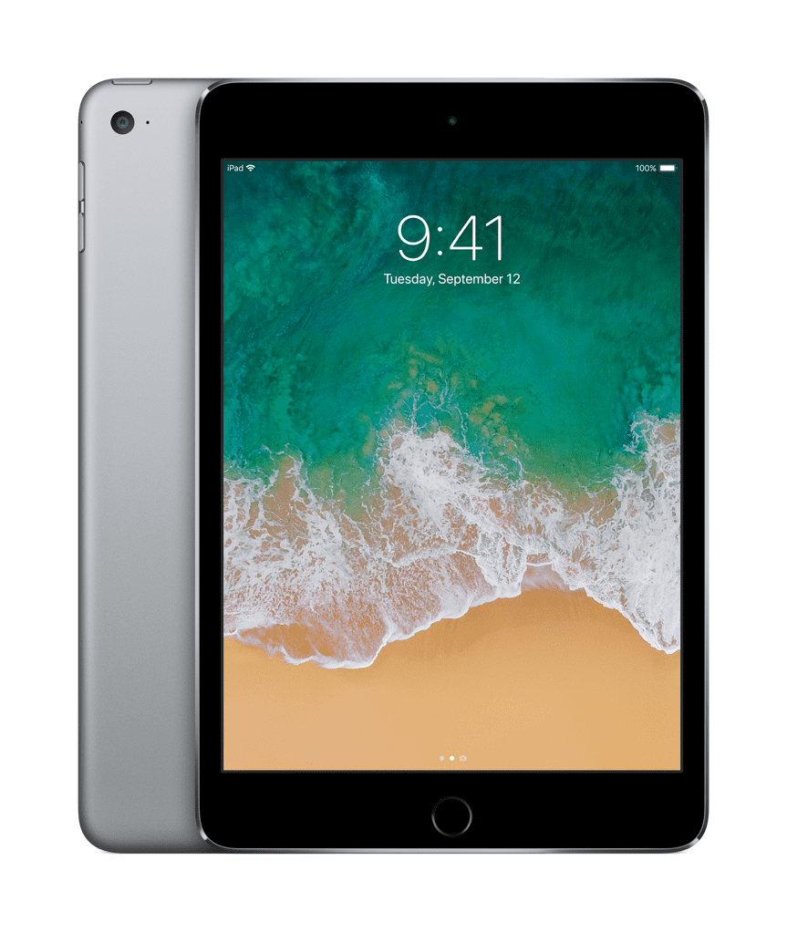 apple ipad mini 4 wi fi 128gb space gray. Black Bedroom Furniture Sets. Home Design Ideas
