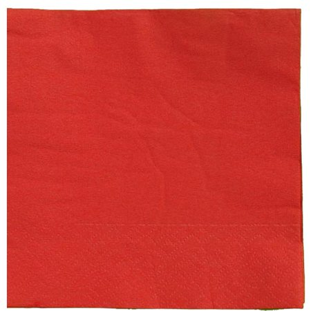 Exquisite Disposable Luncheon & Dinner Napkins - Bulk 50 Count - Red - High Quality Paper Napkins for Cocktail Parties, Birthdays, Weddings, Bridal & Baby Showers