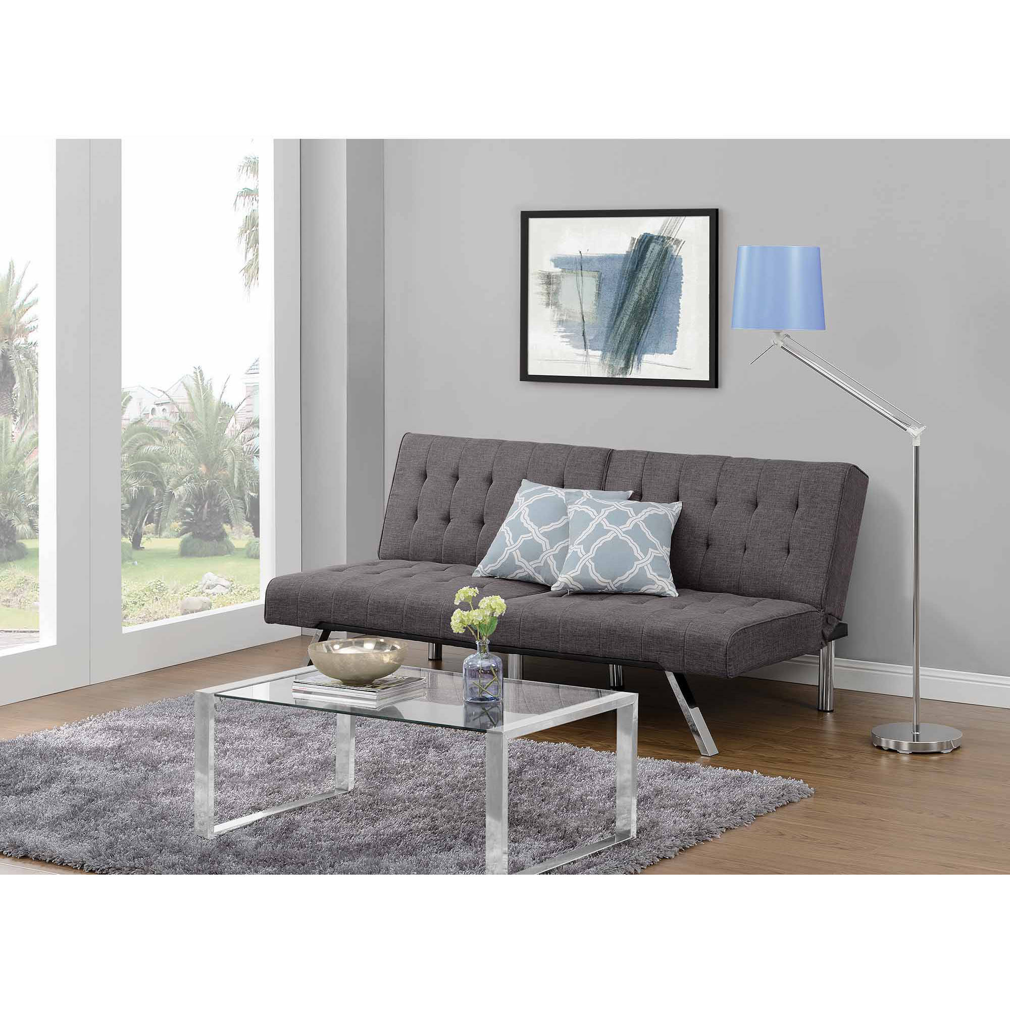 dhp emily convertible futon multiple colors dhp emily convertible futon multiple colors   walmart    rh   walmart