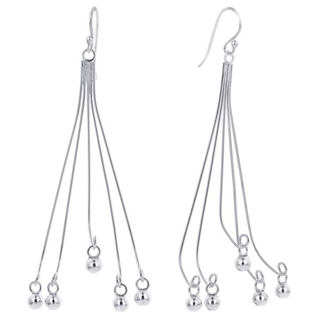 Gem Avenue 925 Sterling Silver French Ear Wire Drop