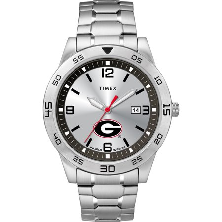 Timex - NCAA Tribute Collection Citation Men's Watch, University of Georgia Bulldogs (Georgia Bulldogs Mens Watch)