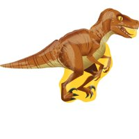 "Jurassic World Raptor Foil Balloon 40"""