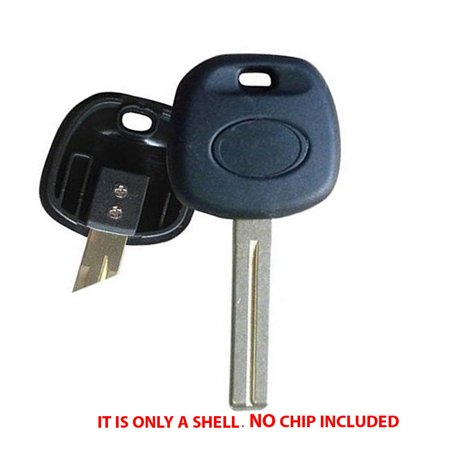 Uncut Non Chip Transponder Blank Key Case Shell For Lexus -Short (Lexus Transponder)