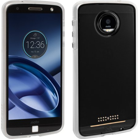 New in Box OEM Case Mate Naked Tough Clear Case For Moto Z Droid Edition