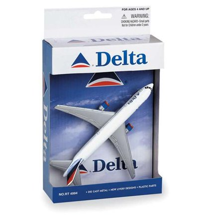 - Diecast Metal Aircraft Toy Commercial Airplane - Delta