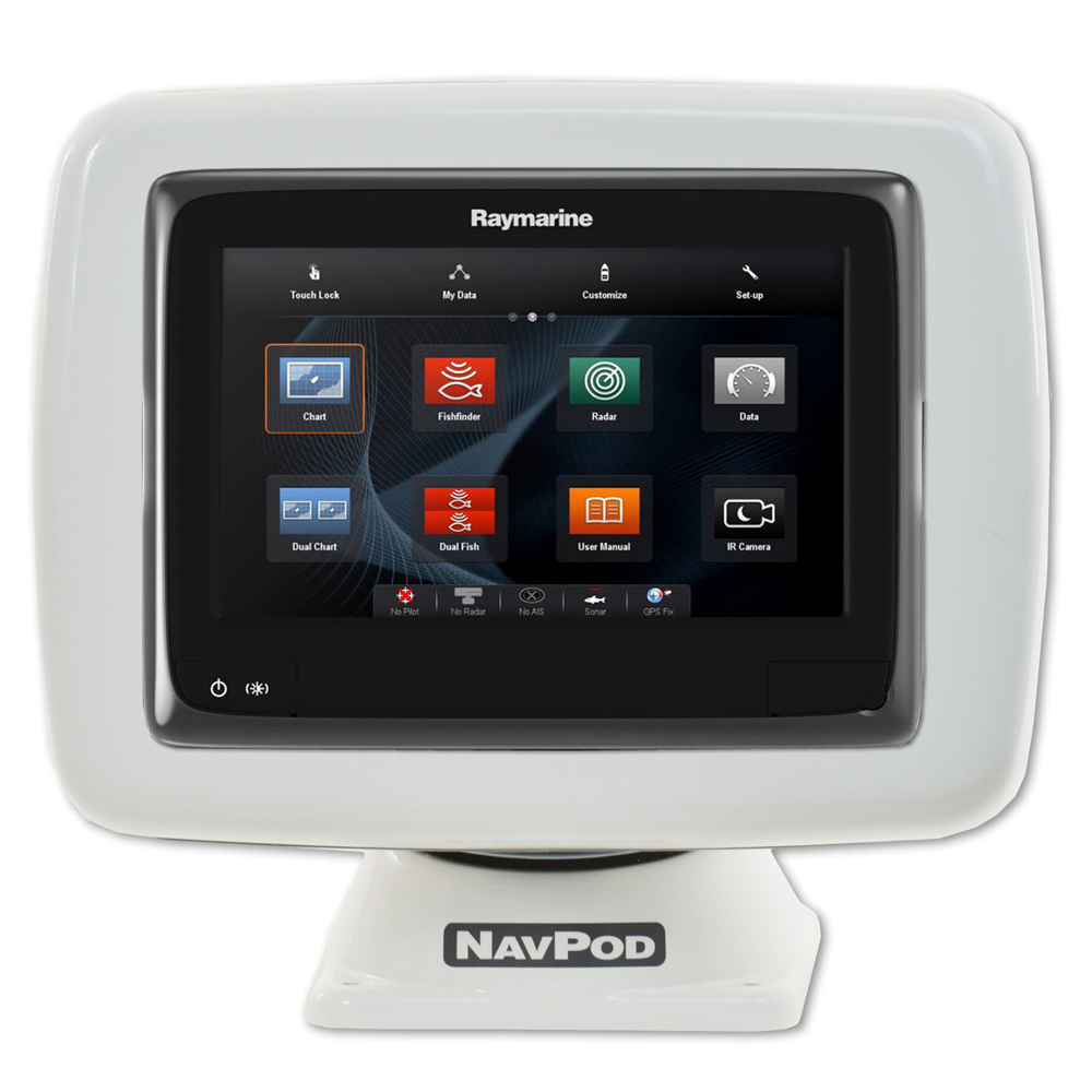 NAVPOD POWERPOD PRE-CUT FOR   RAYMARINE A95/A97/A98