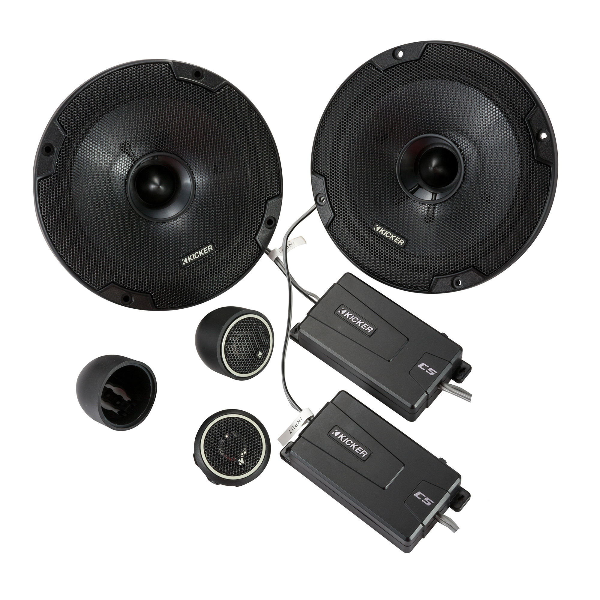 Kicker 46CSS674 CS-Series CSS67 6.75-Inch (165mm) Component System with .75-inch tweeters, 4-Ohm (Pair)