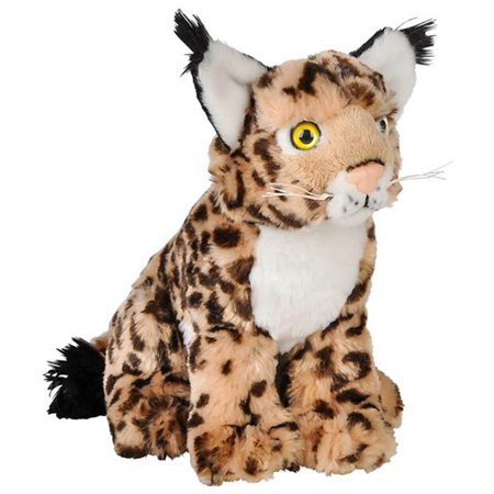"Wildlife Tree 8"" Bobcat Lynx Stuffed Animal Plush Floppy Zoo Species Collection"
