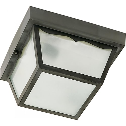 Nuvo Lighting 77/863 1 Light Flush Mount Outdoor Ceiling Fixture - 8 Inches Wide