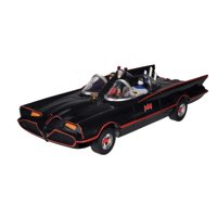 "DC Comics Batman Classic TV Series Batmobile, 3"" Batman and Robin Action Figures"