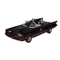 """DC Comics Batman Classic TV Series Batmobile, 3"""" Batman and Robin Action Figures"""