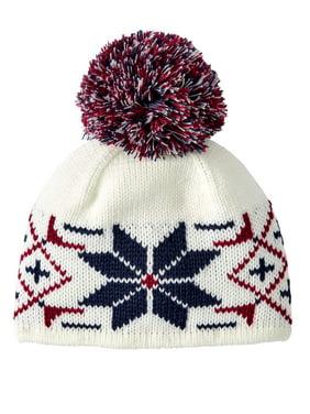 T by Tignanello Women's Fairisle Pom Hat