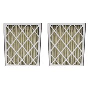 Crucial GeneralAire 14201 and 4501 Pleated Furnace Air Filter (Set of 2)