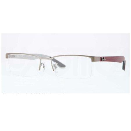 f93364dcb9 Eyeglasses Ray-Ban Optical RX 8412 2620 MATTE GUNMETAL - Walmart.com