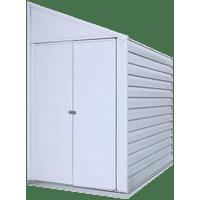 Yardsaver 4 x 7 ft. Steel Storage Shed, Eggshell