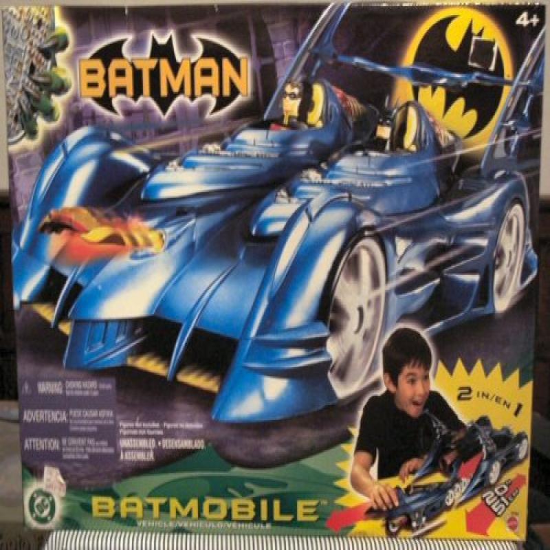 Mattel Batman 20 2 in 1 Batmobile