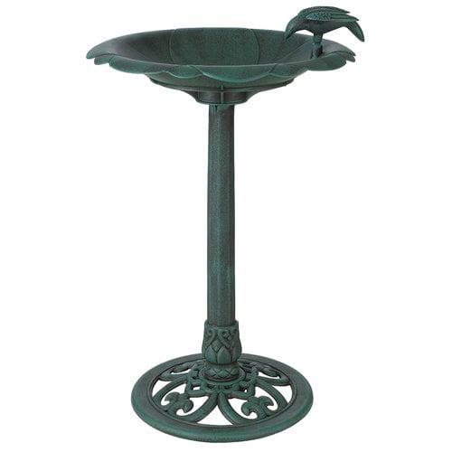 Arcadia Garden Products Birdbaths Verdigris Birdbath by Arcadia