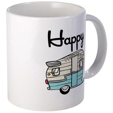 CafePress - Happy Camper Mugs - Unique Coffee Mug, Coffee Cup CafePress
