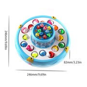 Wooden Magnetic Fishing Game, Magnetic Alphabet Letters Fishing Toy, Montessori Educational Games Fine Motor Skill Toys for 3 4 5 Year Old Boys Girls Kids Toddlers