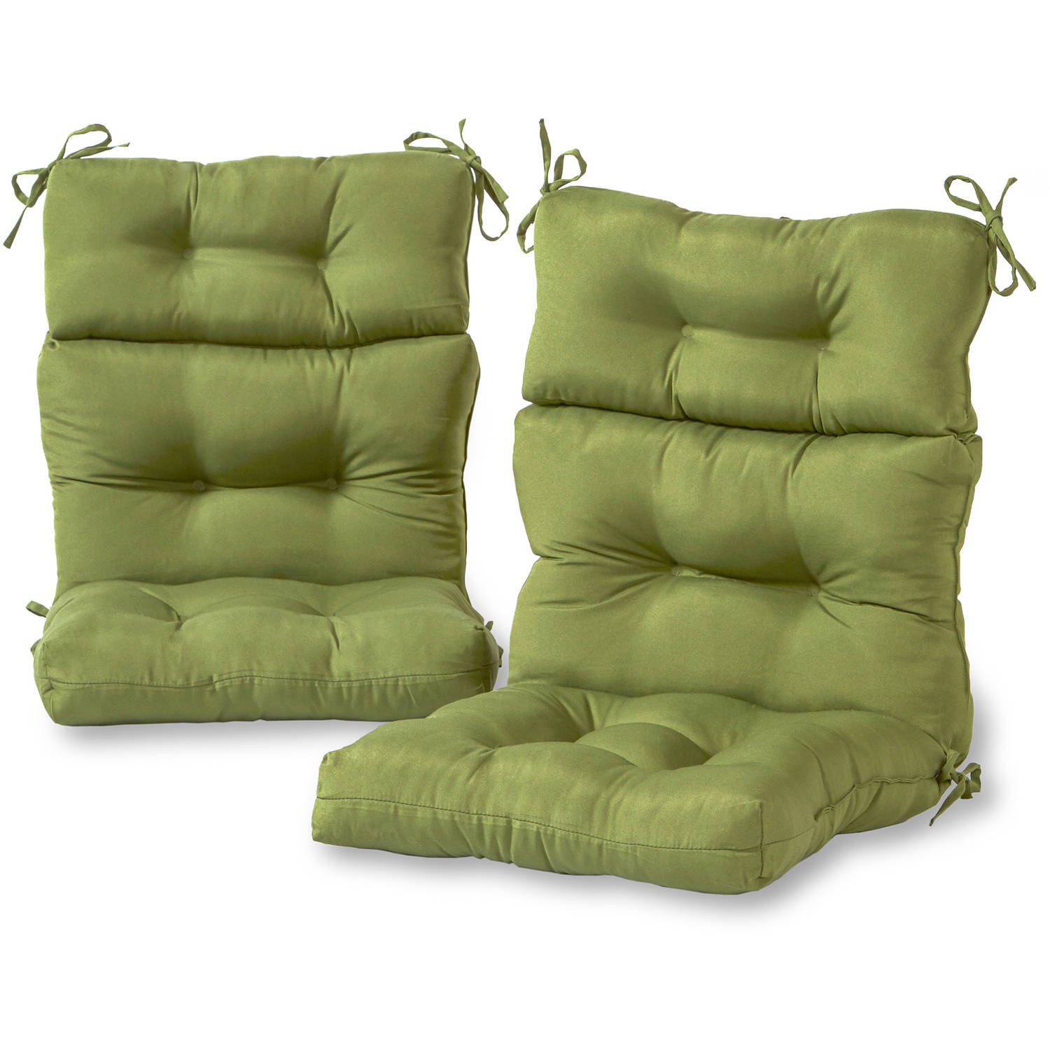 Greendale Home Fashions Outdoor High Back Chair Cushions