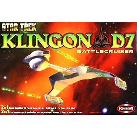 Star Trek Klingon D7 BattleCruiser Model (Startrek Plastic Model Kits)