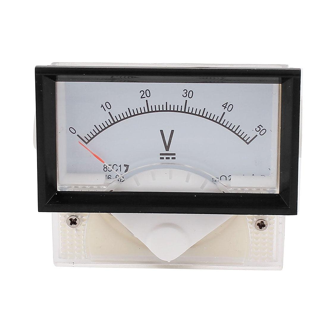 85C17 DC 0-50V Class 2.5 Analog Panel Voltage Voltmeter Gauge Volt Meter - image 2 of 2