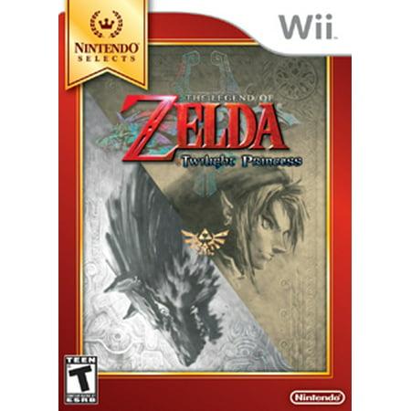 NINTENDO SELECTS: THE LEGEND OF ZELDA: TWILIGHT PRINCESS (Nintendo Gamecube Twilight Princess)