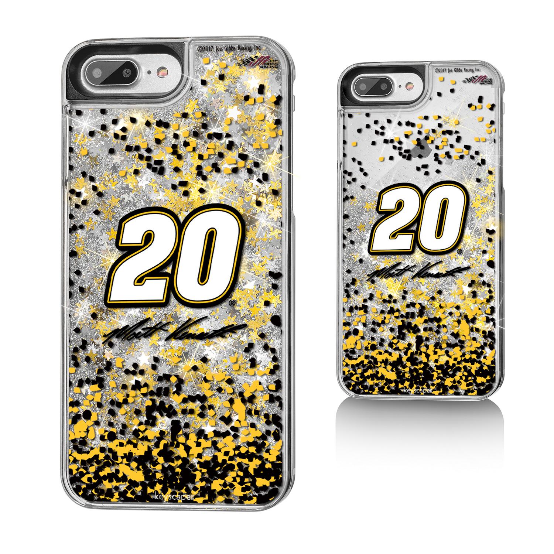 Matt Kenseth Gold Glitter iPhone 7+ Case