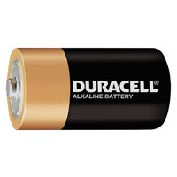 Duracell, DUR01301, Coppertop Alkaline D Battery - MN1300, 12 / Box, Black