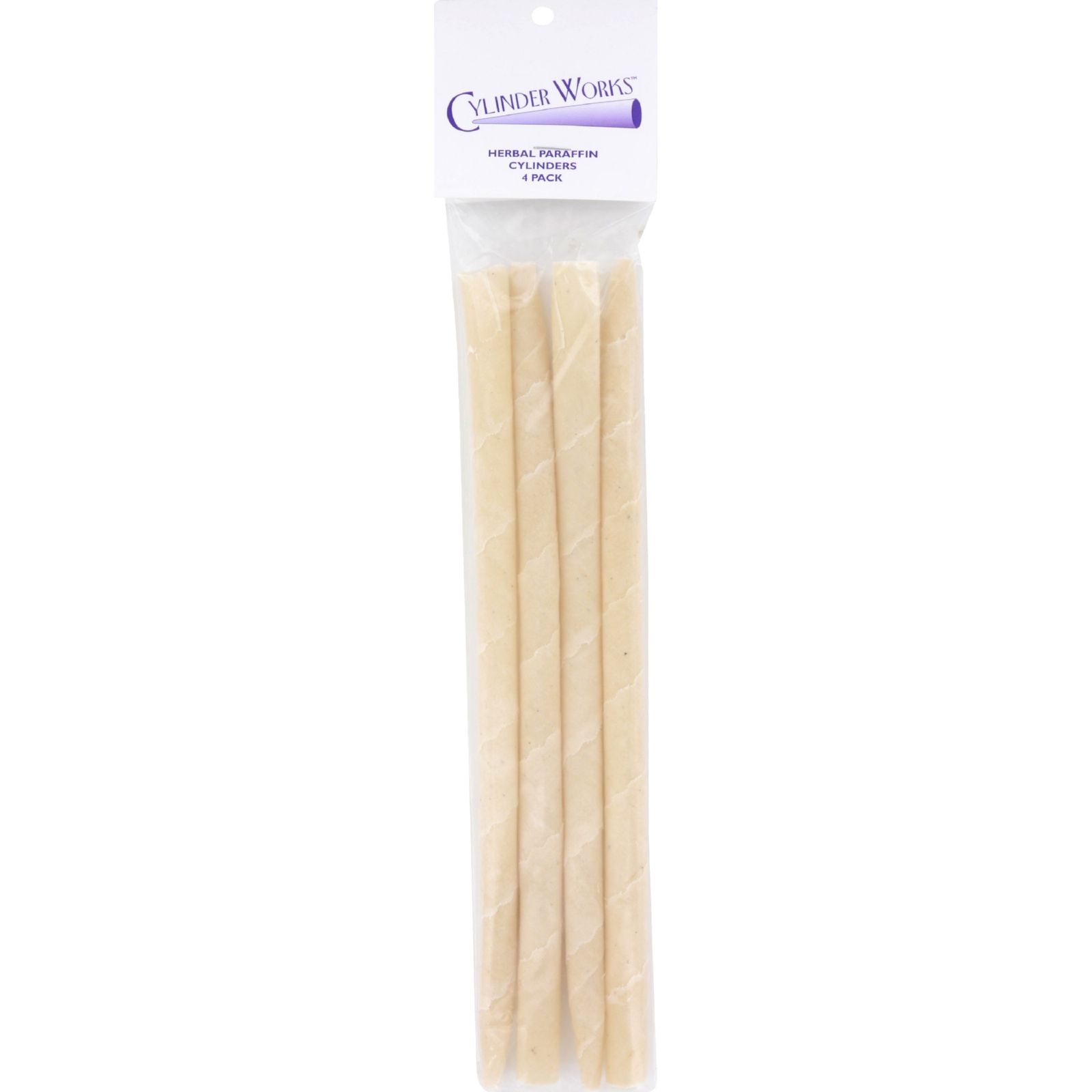 Cylinder Works Herbal Paraffin Ear Candles 4 Pack by Cylinder Works