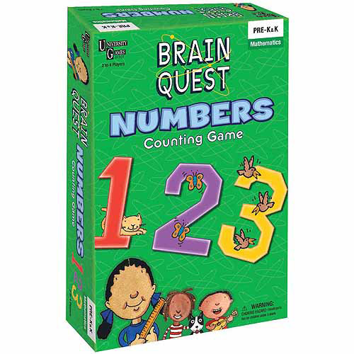 Brain Quest, Numbers Counting Game