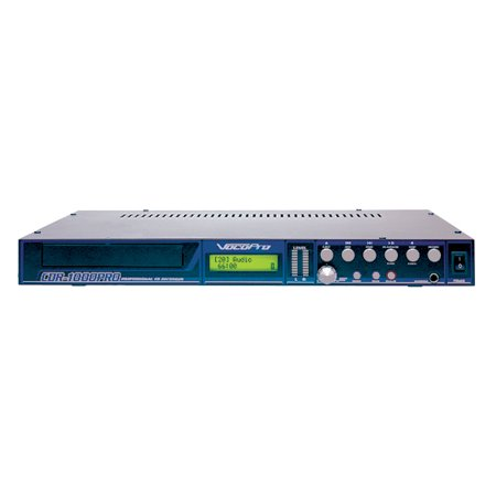 Vocopro Cdr1000pro Professional Single Rack Stand-alone Cd Recorder & Player